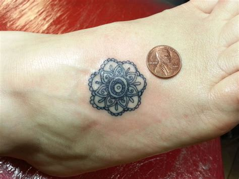 small mandala tattoos small mandala search images