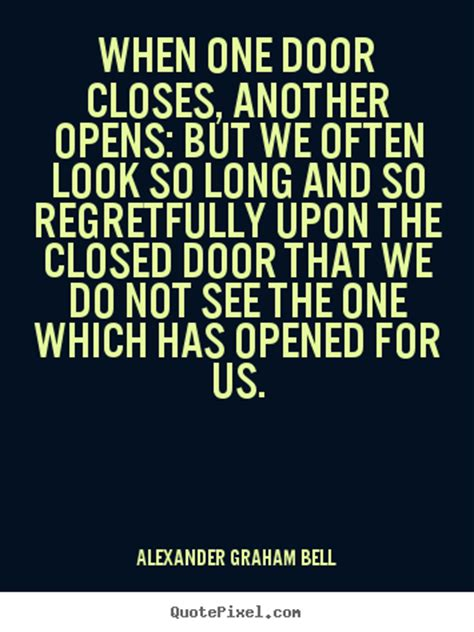 When A Door Closes by Inspirational Quotes When One Door Closes Another Opens
