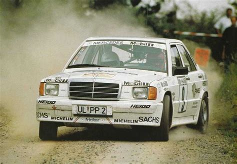 fricker ulm mercedes 190 rally car harald demuth