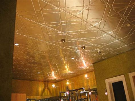 basement ceiling panels category metal ceiling decor size 24 x 24 material