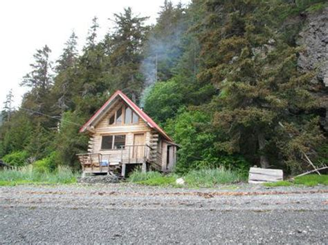Remote Alaskan Cabins For Sale by Alaskan Wilderness Cabin On A Fjord The
