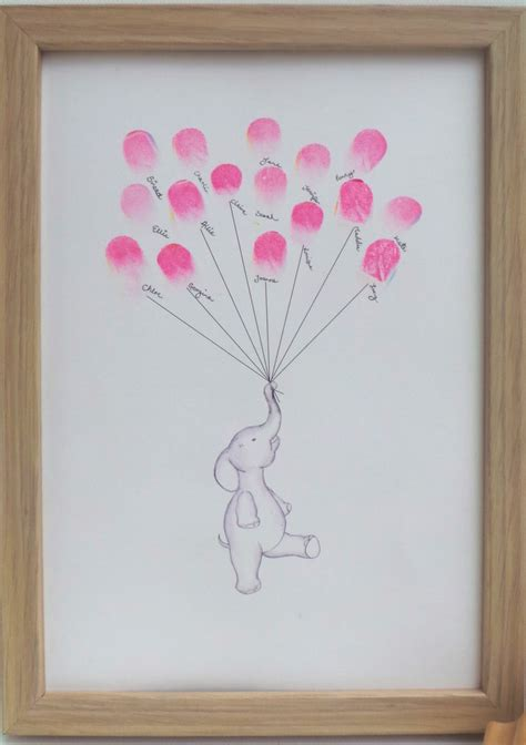 Baby Shower Thumbprint by Baby Shower Thumbprint Ideas Myideasbedroom