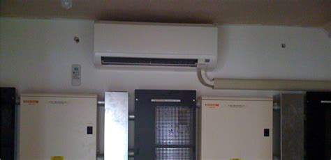 Comms Room Air Conditioning by High Wall Mounted Systems Kool It Services Ltd