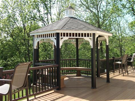 deck gazebo decks with gazebos gazebo with deck builder in lancaster