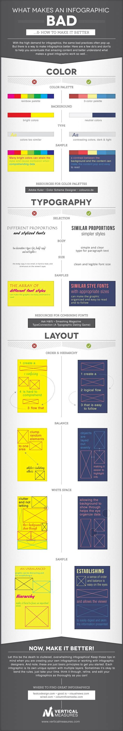 infographics how to print better infographic how to make bad infographics better designtaxi