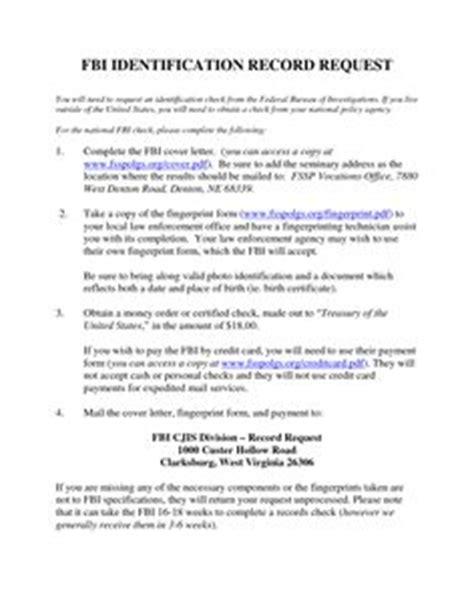 Request Letter Dar Clearance Fingerprints Request Lettervolunteer Clearance