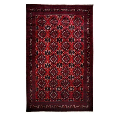 Darya Rugs Bokhara Red 9 Ft 9 In X 15 Ft 6 In Indoor 10 X 15 Area Rug