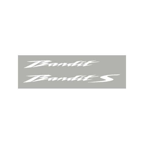 Suzuki Bandit Aufkleber by 2 Aufkleber F 252 R Bandit 2010