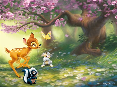 spring wallpaper disney bambi images bambi wallpaper hd wallpaper and background