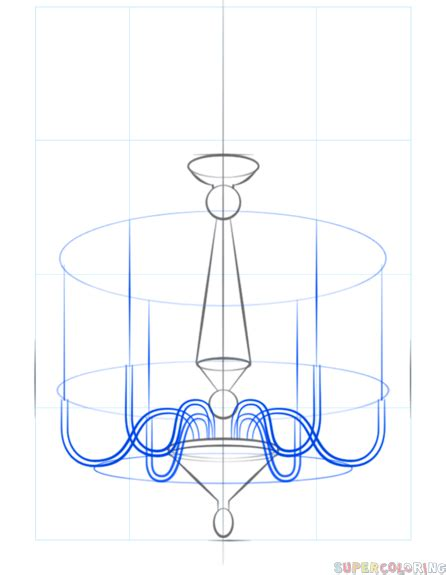 How To Draw A Chandelier How To Draw A Chandelier Step By Step Drawing Tutorials