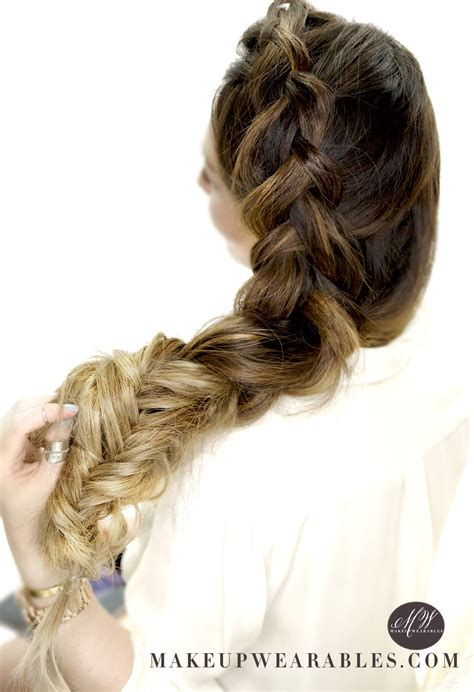 cute hairstyles for school no braids how to big messy braid tutorial dutch into fishtail