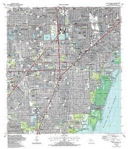south miami topographic map fl usgs topo 25080f3