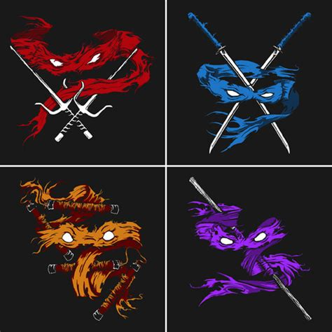 teenage mutant ninja turtles minimalist t shirts