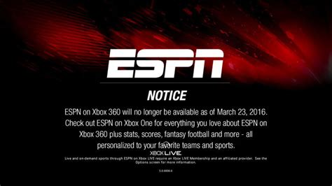 xbox 360 will support at xbox one gets another boost as espn ends xbox 360 support on msft
