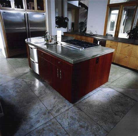concrete kitchen flooring how to concrete kitchen floor kitchen design photos