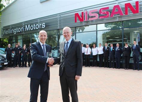david wright nissan global award success for wellington motors nissan