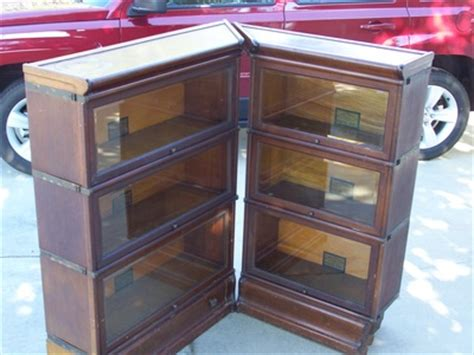 gunn bookcases for sale 3 section lawyer bookcase for sale antique barrister