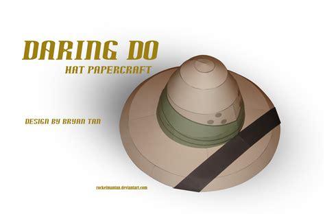 Paper Craft Hats - mlp daring do s hat papercraft by rocketmantan on deviantart