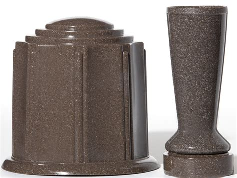 Vases For Gravestones by Foreversafe Cemetery Vases Replacement Cemetery Vases
