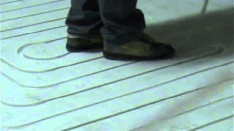 spessore pavimento radiante posa di un impianto radiante a zero spessore