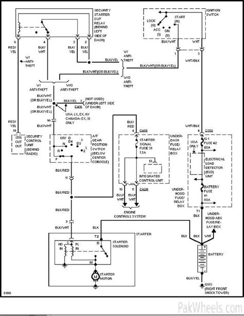 civic 2002 starting wiring diagram civic pakwheels forums