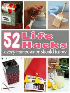 Life Hacks For Home by 52 Life Hacks Every Homeowner Should Know Diy Craft Projects