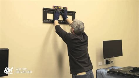 Fotos An Wand Befestigen by How To Wall Mount A Tv Led Lcd Abt Electronics