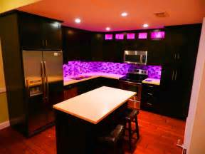 Walnut Kitchen Cabinets Granite Countertops - black and purple kitchen ideas 7070 baytownkitchen