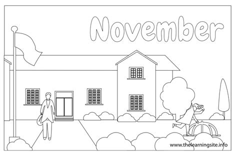 free months to month coloring pages