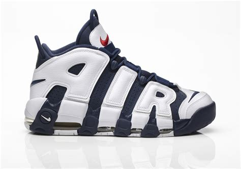 Nike Air Uptempo Black White 2016 nike air more uptempo quot olympic quot 2016 sneakernews