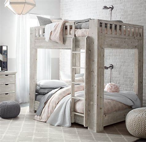 Callum Platform Full Over Full Bunk Bed All Beds Bunk Beds Restoration Hardware