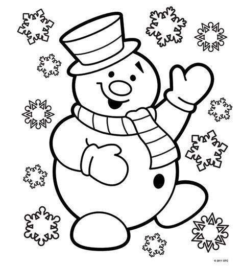frosty the snowman coloring page pdf 1 453 free printable christmas coloring pages for kids