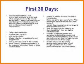 8 30 60 90 day action plan template