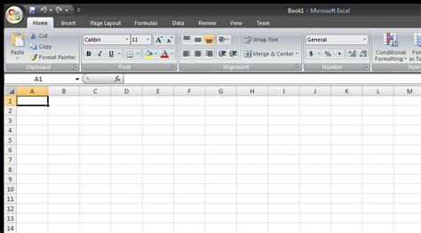 Creating A Spreadsheet From Template In Microsoft Excel 2007 Ms Office User Microsoft Excel Templates