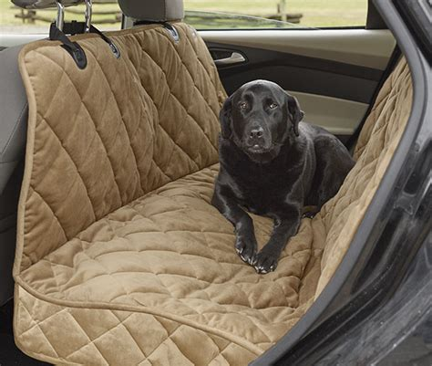 seat protector for dogs car hammock quilted microfibre hammock seat