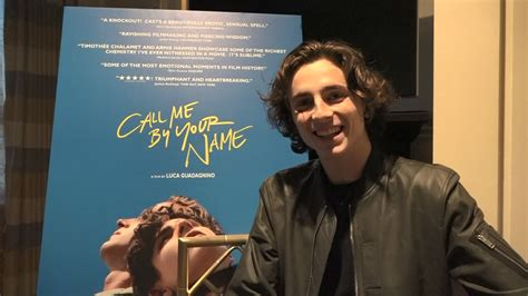 call me by your name timothee chalamet on call me by your name collider