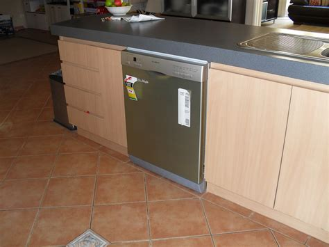 install a dishwasher in an existing kitchen cabinet kitchen appliance installation walters carpentry gas