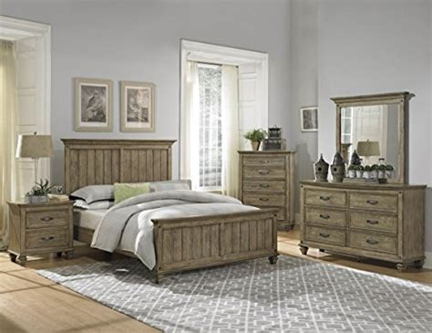 Driftwood King Bedroom Set by Rustic Driftwood Finish Bedroom Furniture With Or Without