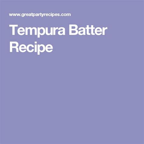 best tempura batter 25 best tempura batter ideas on tempura