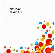 Isolated Abstract Colorful Bubble Background Festive