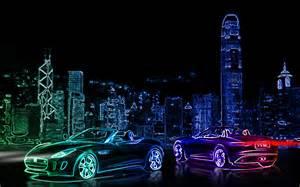 Neon city subzgfx by subzgfx on deviantart