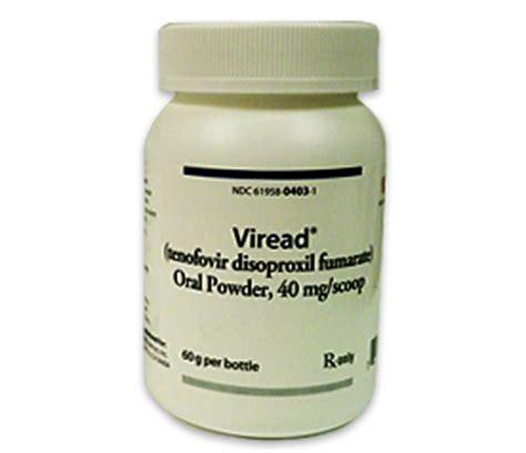 vire d tenofovir disoproxil fumarate dosage side effects