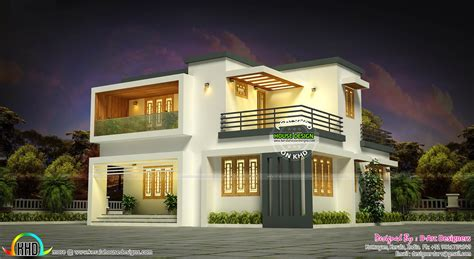home design 10 lakh 19 lakhs estimated kerala house plan kerala home design