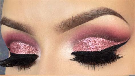 Eyeshadow No Glitter glitter cut crease eye makeup saubhaya makeup