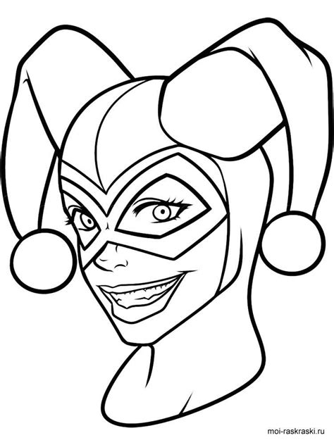 Coloring Pages Printable by Harley Quinn Coloring Pages Free Printable Harley Quinn
