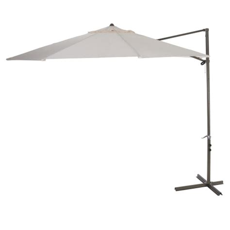 Offset Patio Umbrella With Base Southern Patio 174 10ft Offset Umbrella Base Ace Hardware