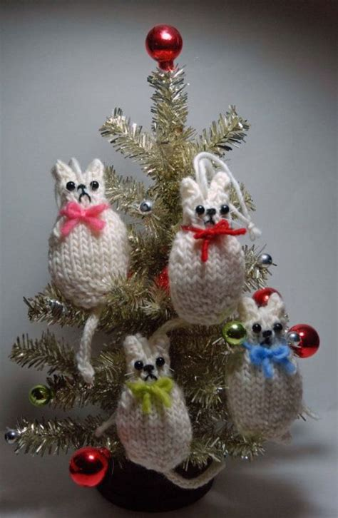 30 colorful knitted christmas ornaments ideas magment