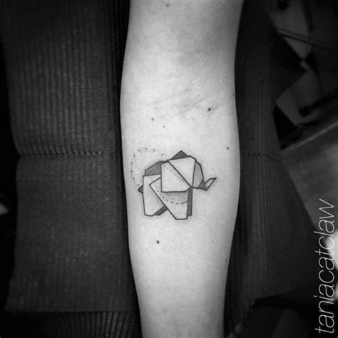 origami elephant tattoo 17 best ideas about origami elephant on