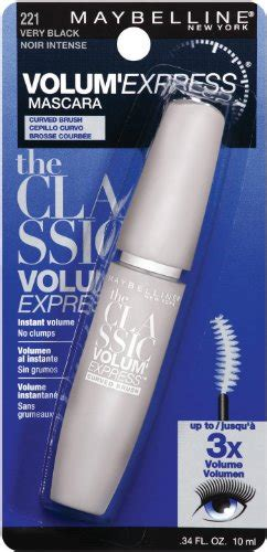 Maybelline Volum Express Curved Brush Washable Mascara Expert Review by Maybelline New York Volum Express Curved Brush Washable