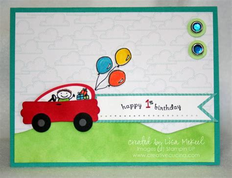 Card Cars Happy Family punch car birthday card by lisalisella at splitcoaststers